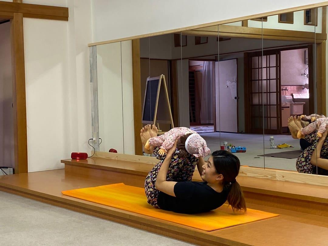 兵庫県加古川市子連れでヨガインストラクター資格講…の画像