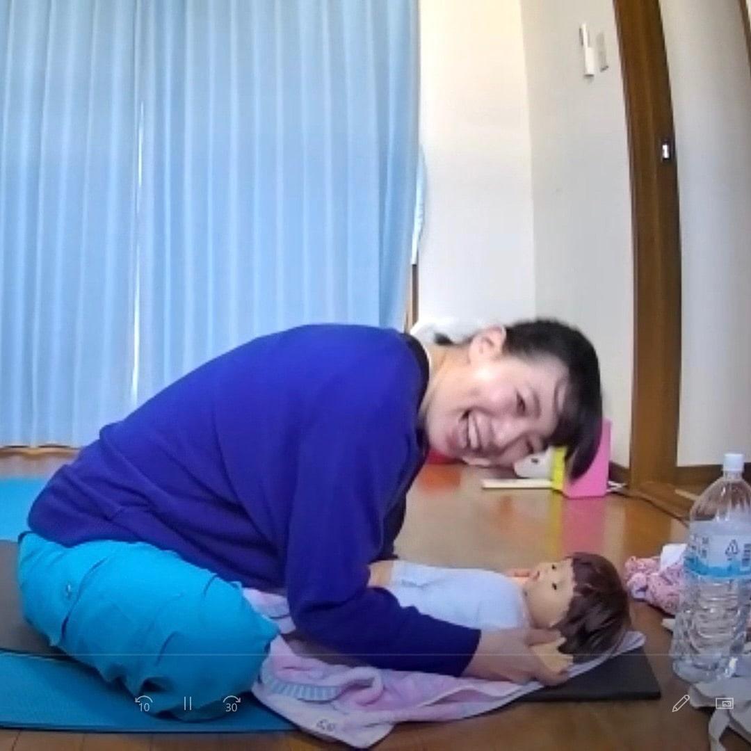 大阪府和泉市「ベビーマッサージ資格」ヨガとベビー…の画像