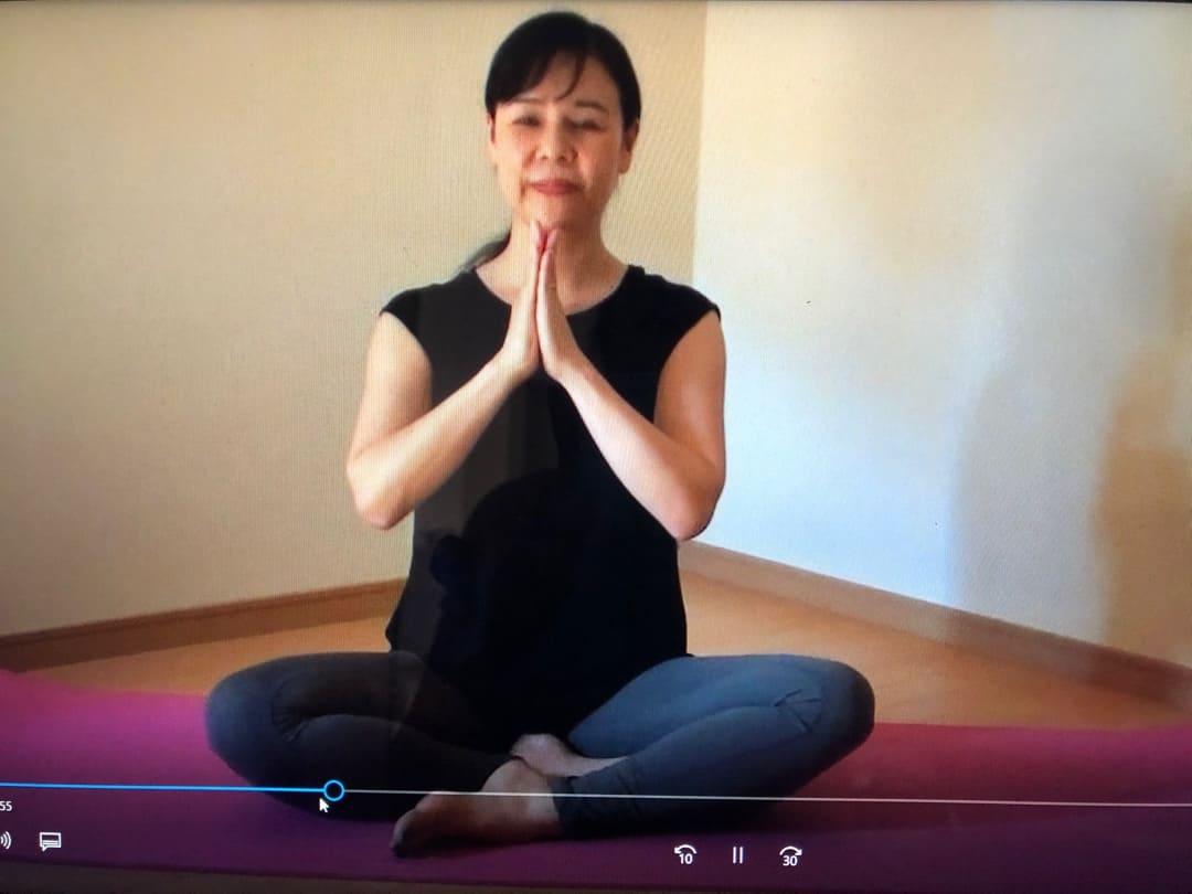 ヨガ資格瞑想